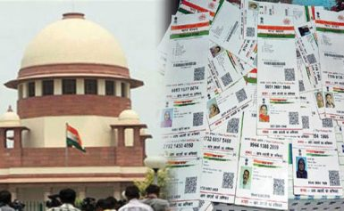 The SC refuses interim stay on linking Aadhaar to bank a/c, mobile nos; leaves it for Constitution bench to decide